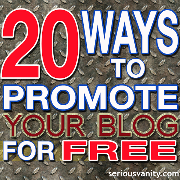 20 Ways to Promote Your Blog for Free